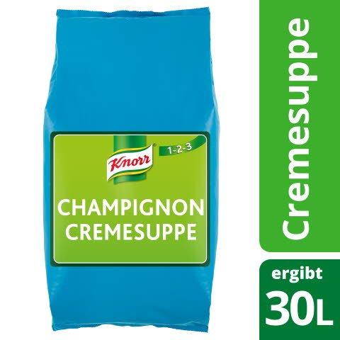 Knorr Champignoncremesuppe kaltquellend 3 KG