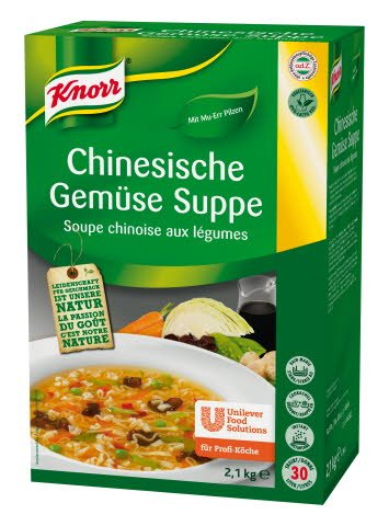 Knorr Chinesische Gemüsesuppe 2,1 KG