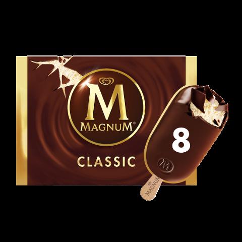 Magnum Classic Eis am Stiel 8 x 110 ml -