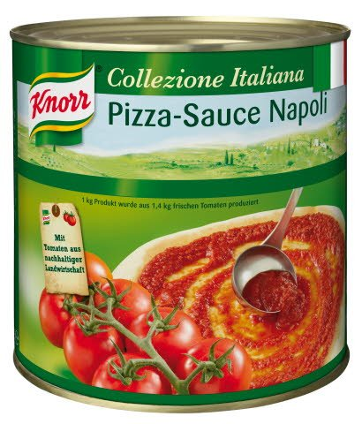 Knorr Collezione Italiana Pizza-Sauce Napoli 2,6 KG -