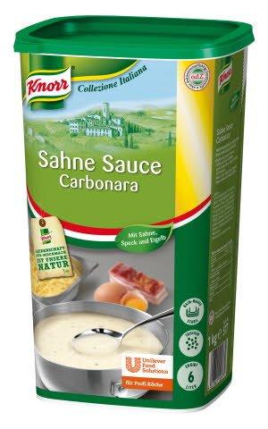 Knorr Collezione Italiana Sahne Sauce Carbonara 1 KG -