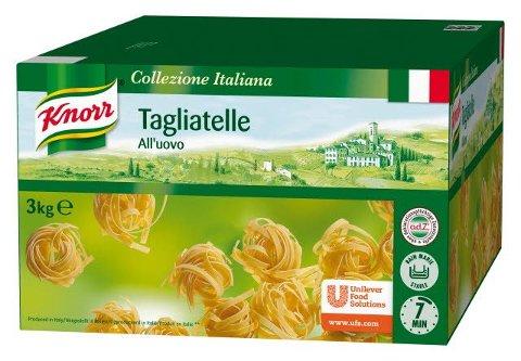 Knorr Collezione Italiana Tagliatelle All´uovo 3 kg -