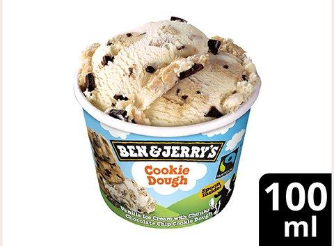 Ben & Jerry's Eis Cookie Dough Eis Becher 100 ml -
