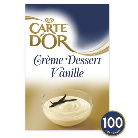 carte d 39 or cr me dessert vanille 1 6 kg. Black Bedroom Furniture Sets. Home Design Ideas