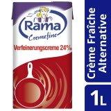 Rama Cremefine Verfeinerungscreme - Alternative zu Crème Fraîche auf Pflanzenölbasis (1,011 KG)