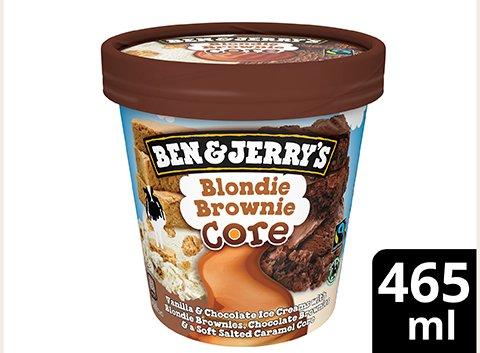 Ben & Jerry's Blondie Brownie Becher 465 ml -