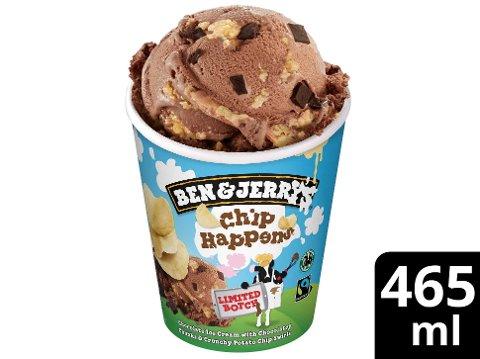 Ben & Jerry's Netflix Chip Happens Eis Becher 465 ml -