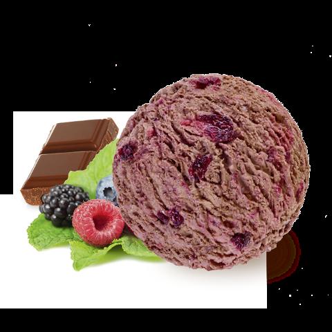 Carte D'Or Schokolade Waldbeere Vegan Eis 2.4 L -