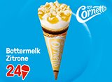 Cornetto Bottermelk Zitrone 122 ml -