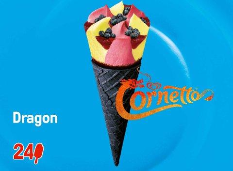 Cornetto Dragon 120 ml -