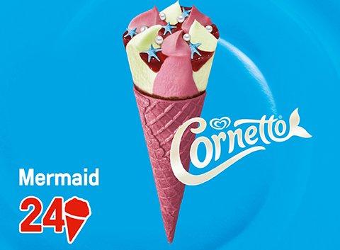 Cornetto Mermaid 123 ml -