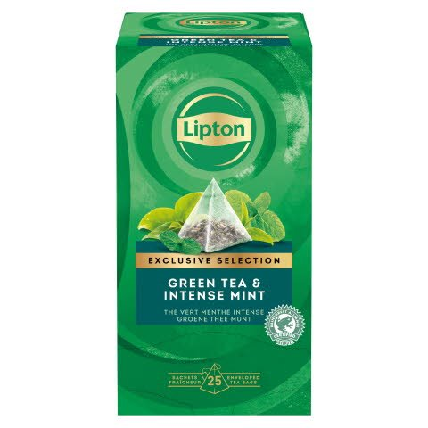 Lipton Green Tea Intense Mint 25 Beutel