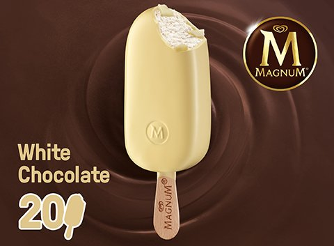 Magnum White Chocolate 120 ml -