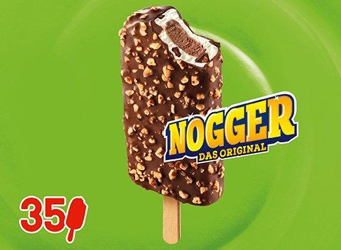 Langnese Nogger Original Eis am Stiel 94 ml -