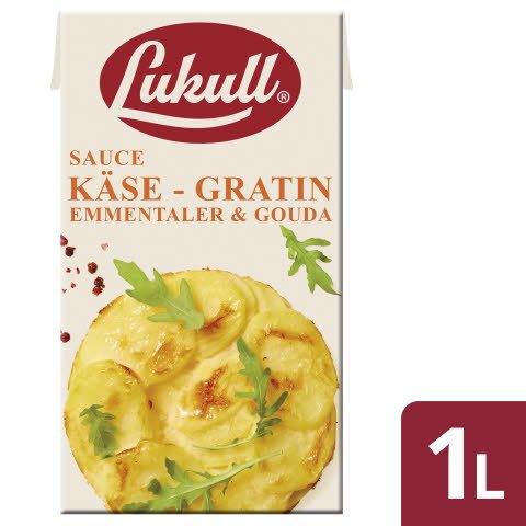 LUKULL Käse-Gratin-Sauce 6X1L -