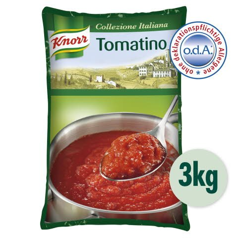 Knorr Tomatino Tomatensauce passiert Beutel 3 kg