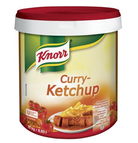 Knorr Curry-Ketchup 10 KG