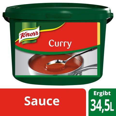 Knorr Curry Sauce ideal für Curry Wurst 6 KG -