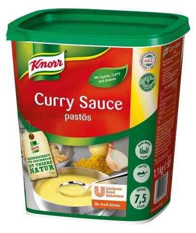 Knorr Curry Sauce pastös 1,1 KG