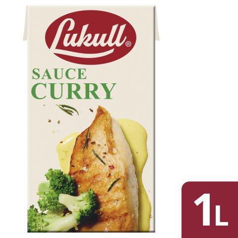 LUKULL CURRY SAUCE 6X1L -
