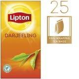 Lipton Darjeeling Schwarztee 25 Beutel -
