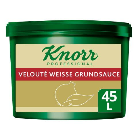 Knorr Professional Clean Label Velouté Weisse Grundsauce 3,6KG