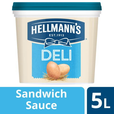 Hellmann's Deli Sandwich Sauce 5 L - Die HELLMANN'S Deli Sandwich Sauce ist vielseitig einsetzbar.