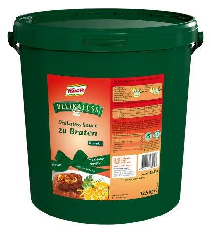 Knorr DELIKATESS Delikatess Sauce zu Braten Klassik 12,5 KG