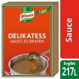 Knorr Delikatess Sauce zu Braten 20 KG