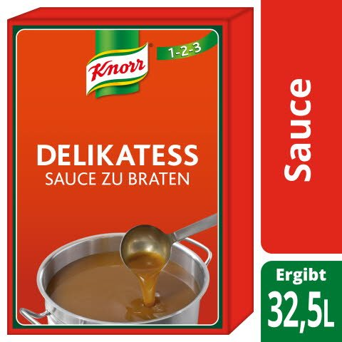 Knorr Delikatess Sauce zu Braten 3 KG
