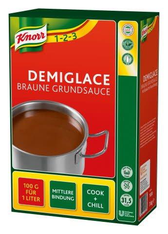 Knorr Demiglace Braune Grundsauce 3 KG -