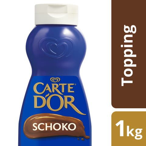 Carte D'or Dessert Topping Schoko 1 KG -