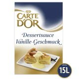 Carte D'or Dessertsauce mit Vanille-Geschmack 1,5 KG