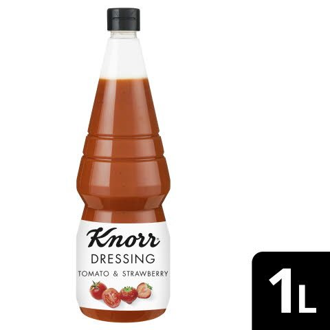 KNORR Dressing and More Tomato & Strawberry 1L - Knorr Dressing and More –einzigartige Zutatenkombinationen für aufregenden Geschmack.