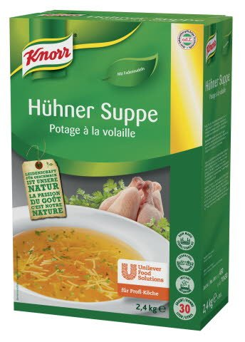 Knorr Hühner Suppe 2.4KG BOX