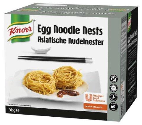Knorr Egg Noodle Nests Asiatische Nudelnester 3 KG -