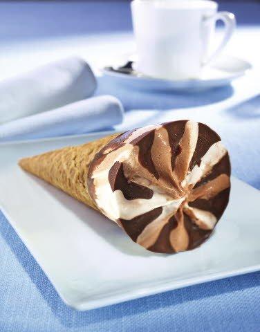 Eishörnchen Vanille-Schokolade Eis 110 ml