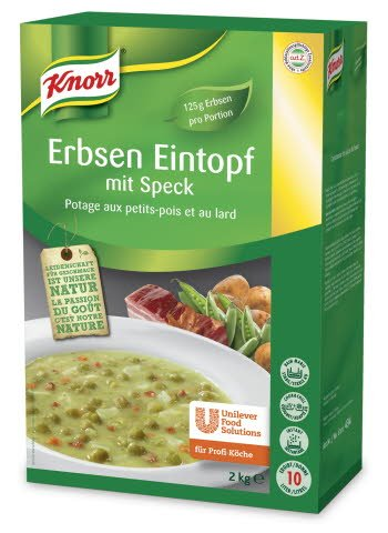 Knorr Erbsen Eintopf mit Speck 2 KG -
