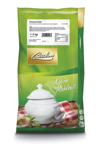 Caterline Erbseneintopf 2 KG (ca. 10 Portionen) -
