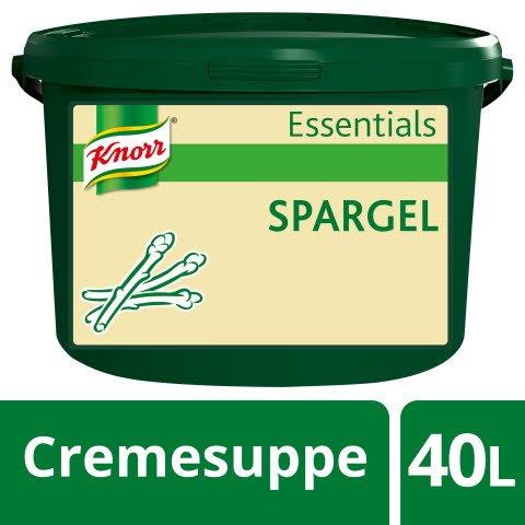 Knorr Essentials Clean Label Asparagus Soup (Spargel Cremesuppe) 3,2 KG -