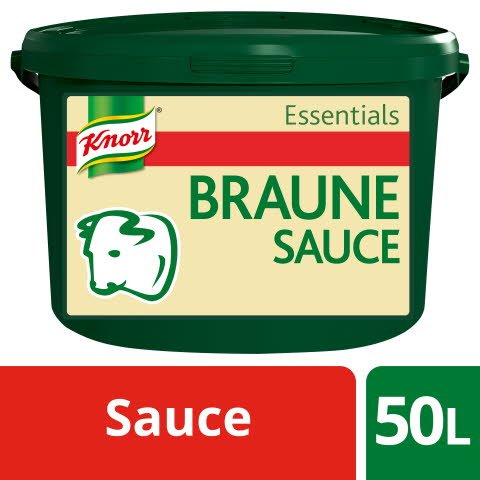 Knorr Essentials Clean Label Brown Sauce (Braune Sauce) 4 KG -