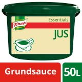 Knorr Essentials Clean Label Sauce Base Jus (Jus zu Braten) 3 kg