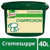 Knorr Essentials Clean Label Mushroom Soup (Champignon Cremesuppe) 3,2 KG -
