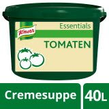 Knorr Essentials Clean Label Tomato Soup (Tomaten Cremesuppe) 4 KG