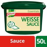 Knorr Essentials Clean Label White Sauce (Weisse Sauce) 4 KG