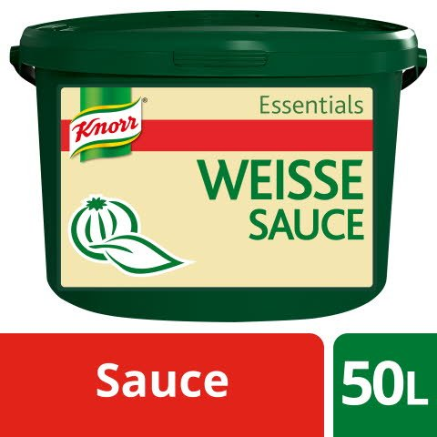 Knorr Essentials Clean Label White Sauce (Weisse Sauce) 4 KG -