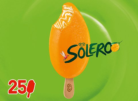 Langnese Solero Exotic Eis 90 ml -