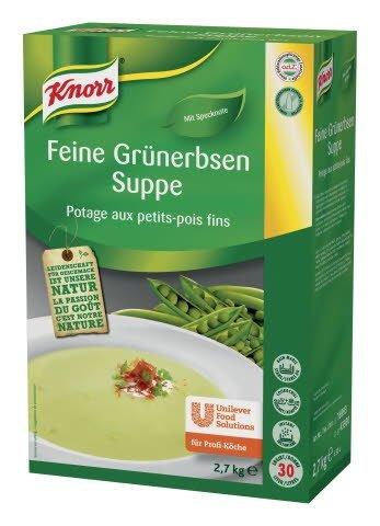 Knorr Feine Grünerbsen Suppe 2,7 KG -