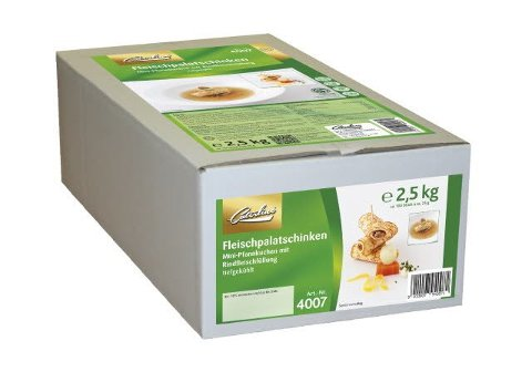 Caterline Fleischpalatschinken 2,5 KG (100 Stk.à ca. 25 g) -