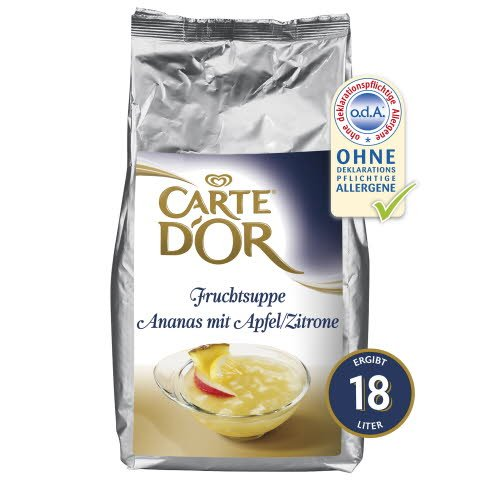 Carte D'or Fruchtsuppe Ananas mit Apfel/Zitrone 3 KG -
